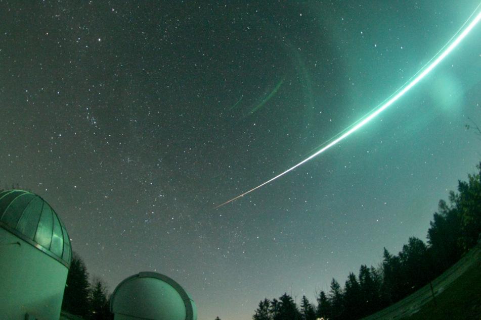Phänomen am Nachthimmel: Dieser Meteor ist eine Seltenheit