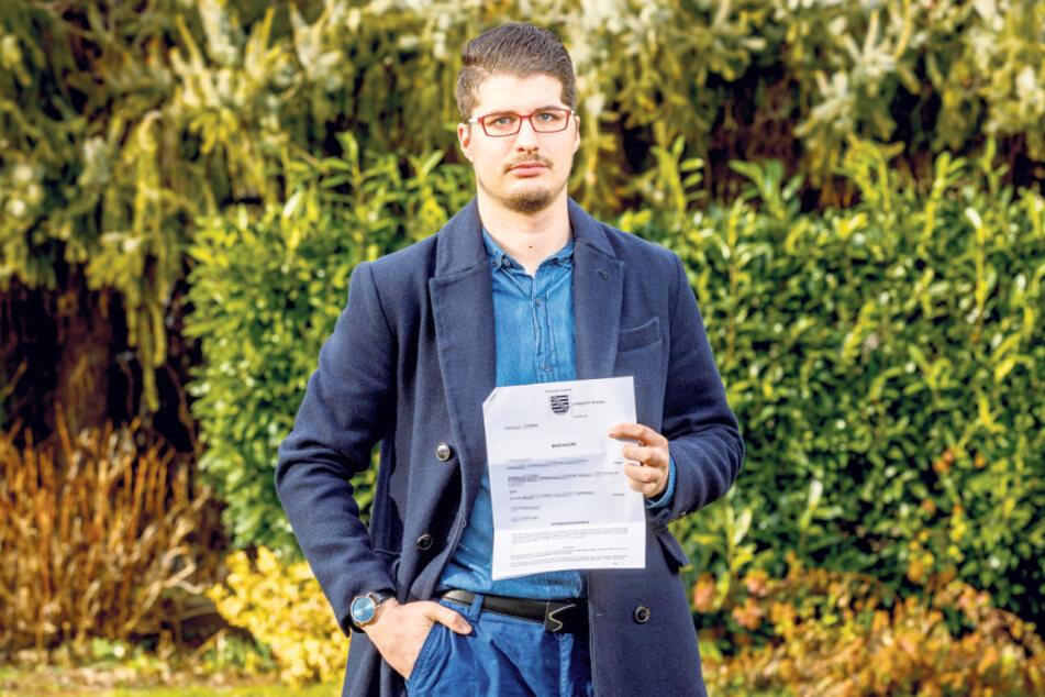Robert Mattes (27) muss nun die Prozesskosten für seinen Peiniger übernehmen.