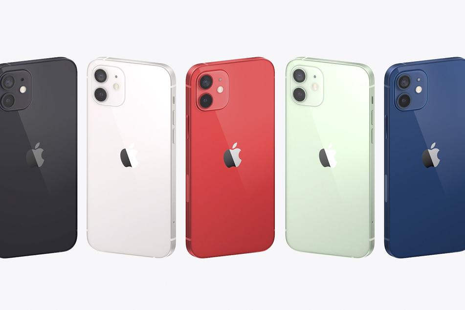 Viele Farben stehen beim neuen iPhone 12 zur Auswahl.