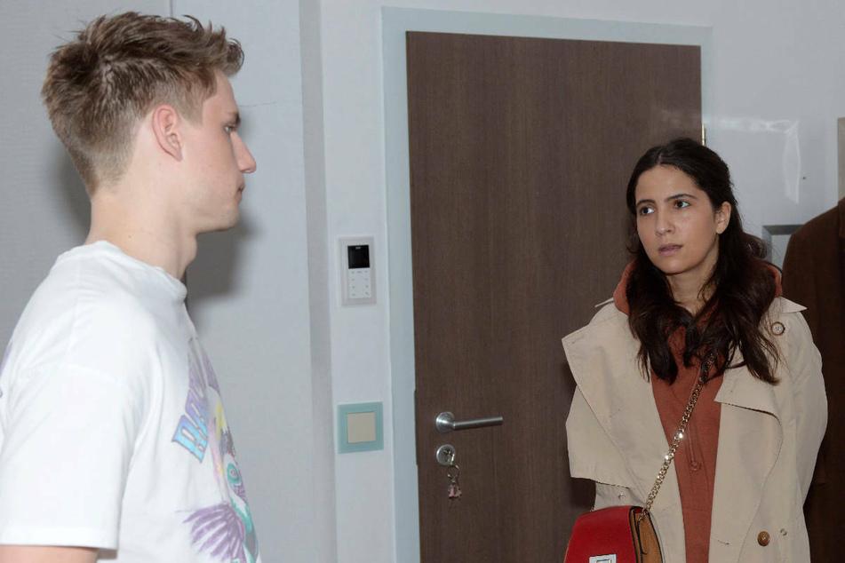 Moritz' Bemerkung zwingt Laura, die Wahrheit einzugestehen.