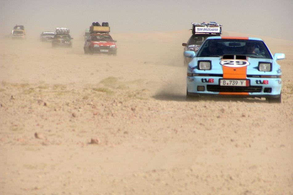 """In Marokko gestrandet: A-Team aus dem """"Arzgebirg"""" bricht Rallye ab"""