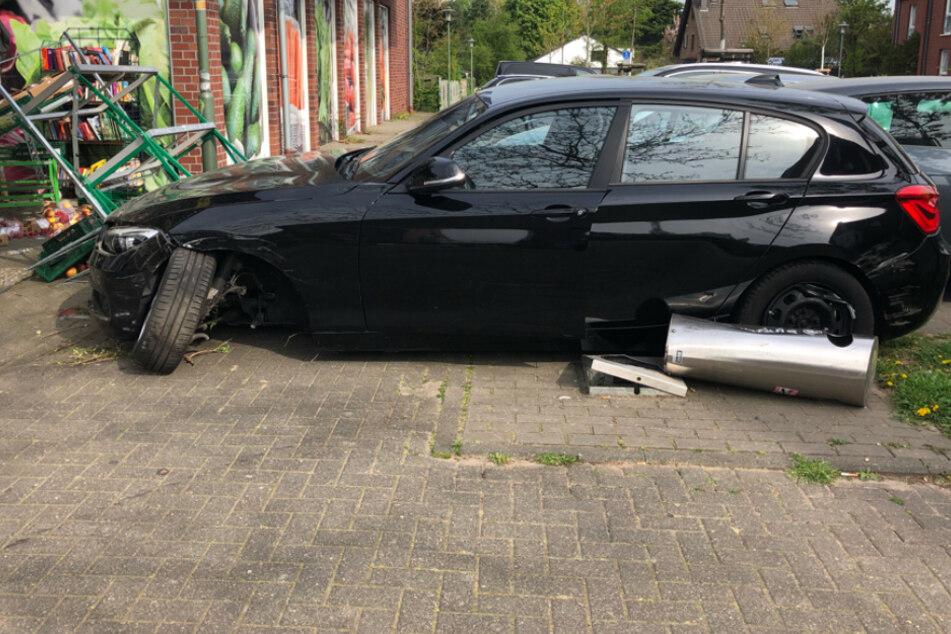 Glücklicherweise wurde bei der Kollision niemand verletzt.