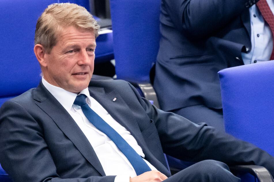 Umweltpolitische Sprecher der Fraktion, Karsten Hilse (55). (Archivbild)