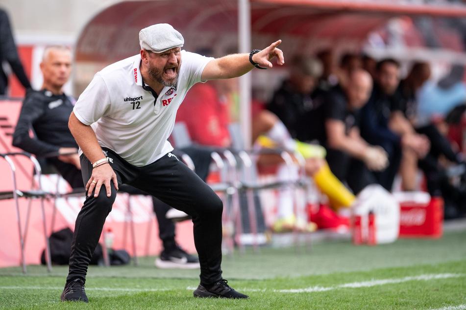 Steffen Baumgart (49) ist mit der Infrastruktur des 1. FC Köln unzufrieden.