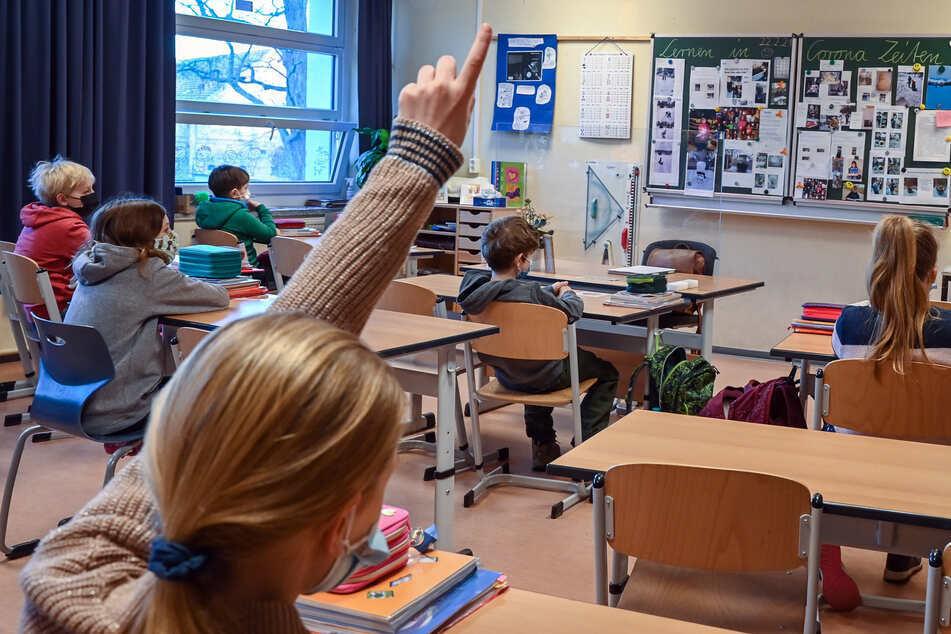 Präsenzunterricht im Wechselmodell gilt es in Sachsen ab Montag nur noch in Ausnahmefällen.
