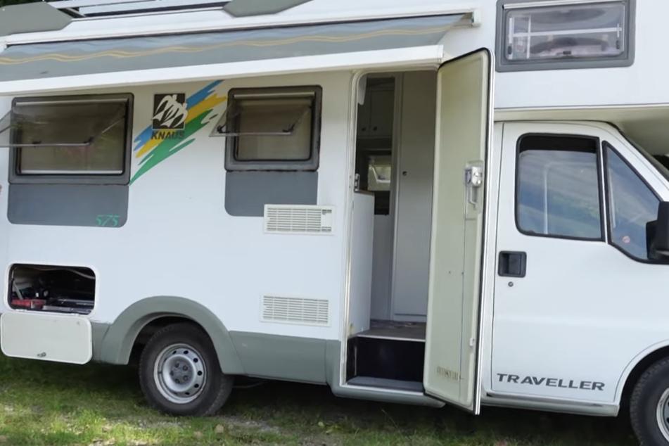 Das ist das neue Wohnmobil von Jenny Frankhauser (29) und ihrem Freund Steffen König.