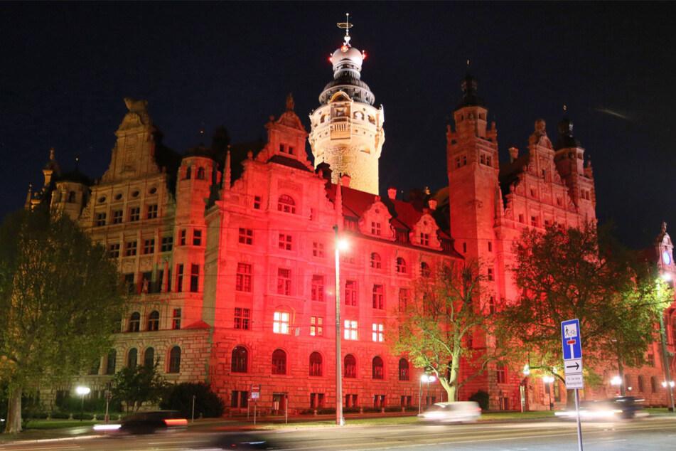Warum Leipzigs Wahrzeichen bald in Rot erstrahlen