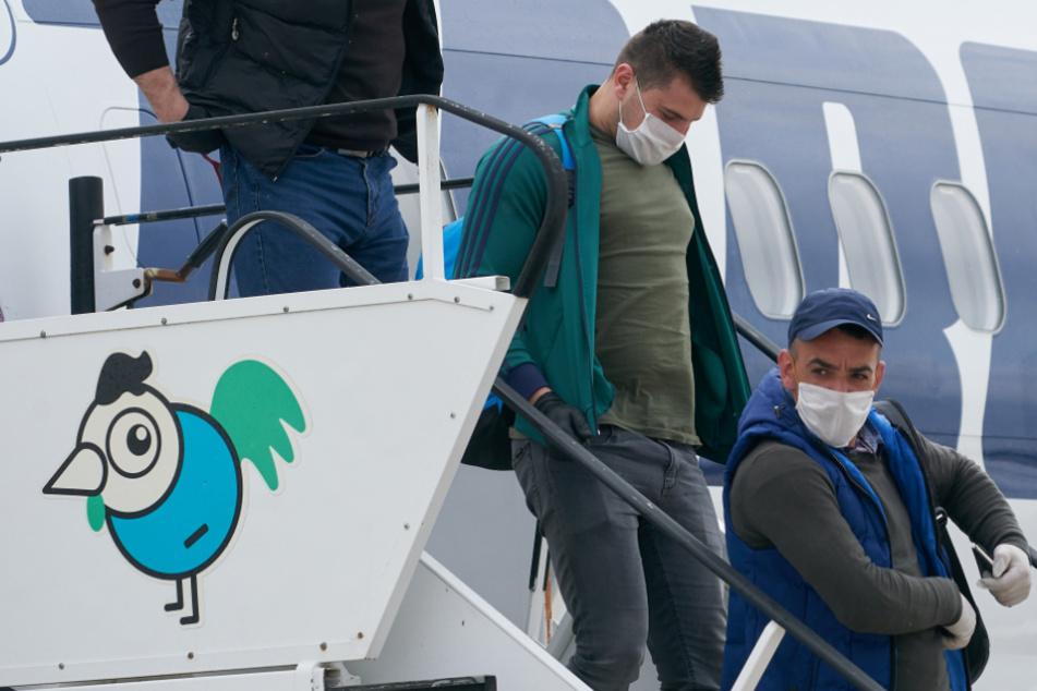 Zur Rettung der Spargel-Saison in der Corona-Krise: Erste rumänische Erntehelfer gelandet