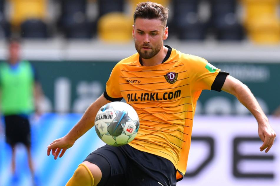 Sein letztes Spiel für Dynamo hatte Kreuzer am 28. Juni 2020 gegen den VfL Osnabrück.