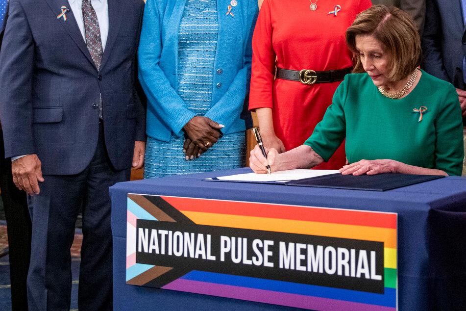 Nancy Pelosi signs bill to create National Pulse Memorial five years after Orlando nightclub mass shooting