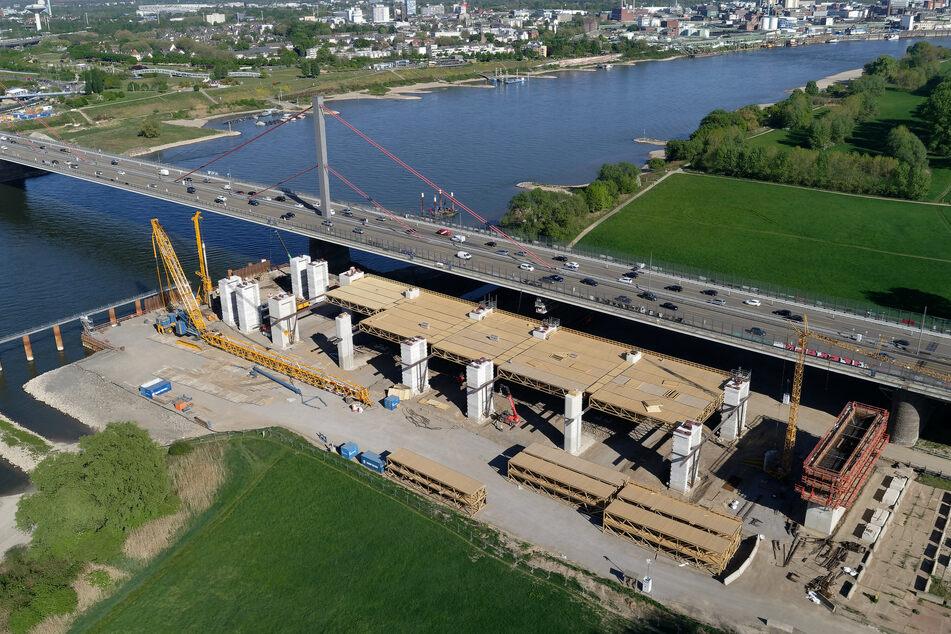 Skurril: Fehlgeleitetes Fax verzögert Weiterbau der Leverkusener Brücke