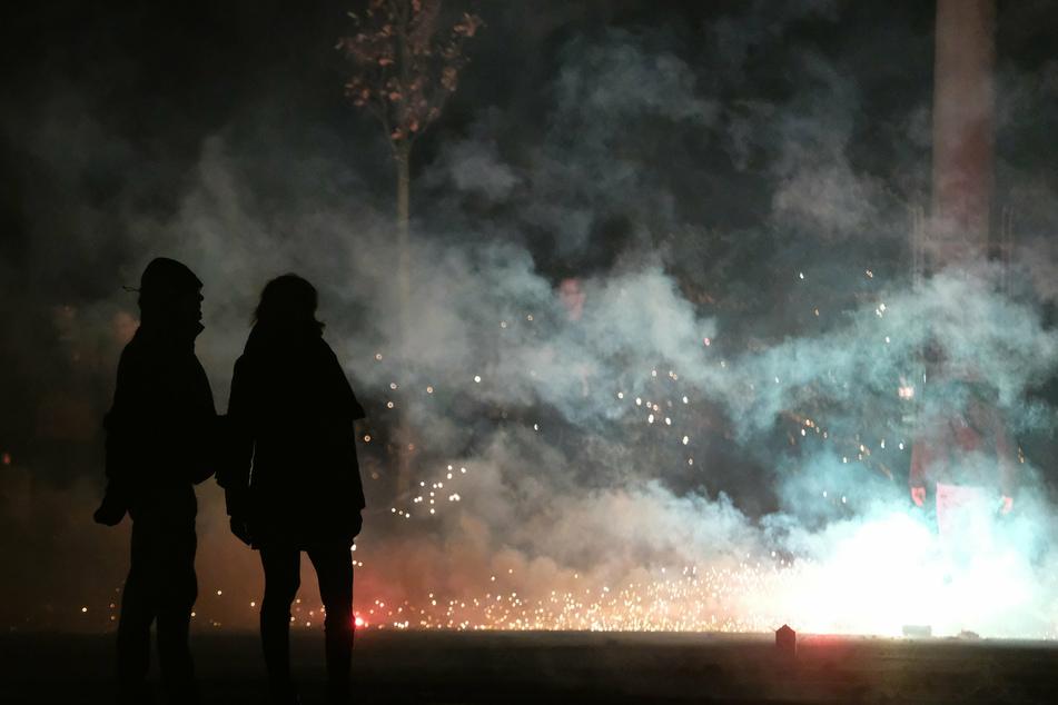 Connewitz-Chaoten mit Pyrotechnik erwischt