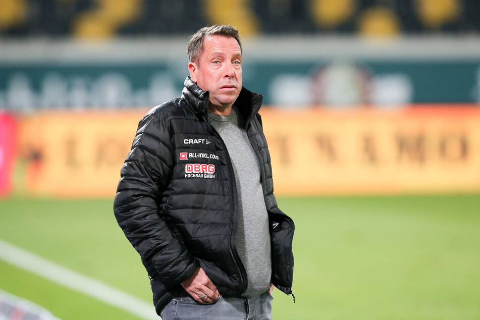 Markus Kauczinski muss vorerst ohne Chris Löwe planen.