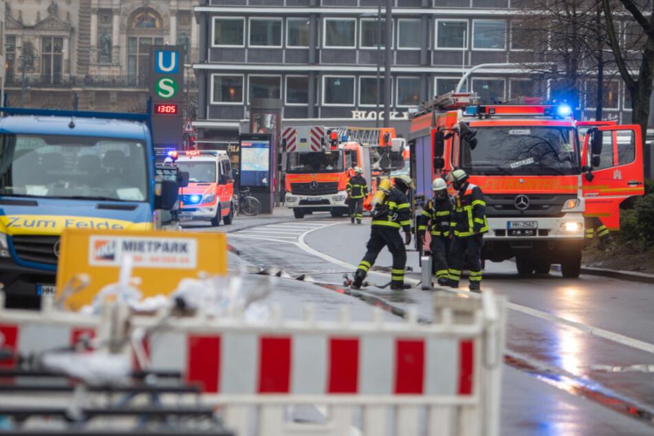 Gasalarm in der Innenstadt: Jungfernstieg gesperrt