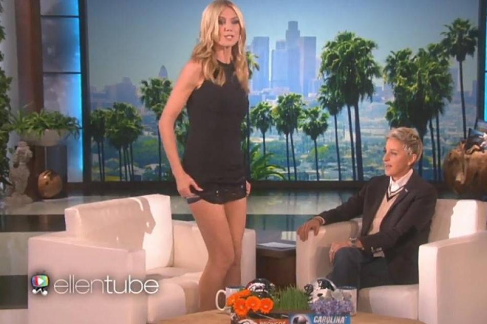 Strip im TV: Heidis Unterwäsche überrascht alle