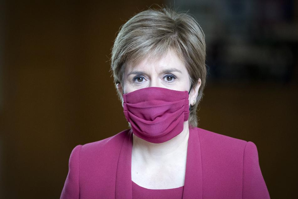 Die Chefin der schottischen Regionalregierung: Nicola Sturgeon (50).