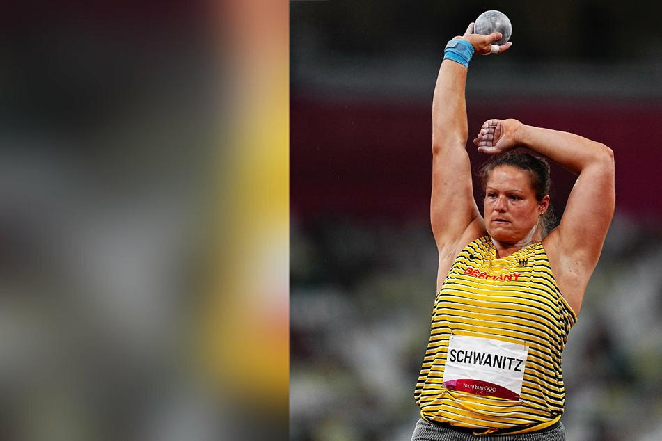 Ex-Weltmeisterin Christina Schwanitz (35) verpasst bei den Olympischen Spielen in Tokio das Finale im Kugelstoßen.