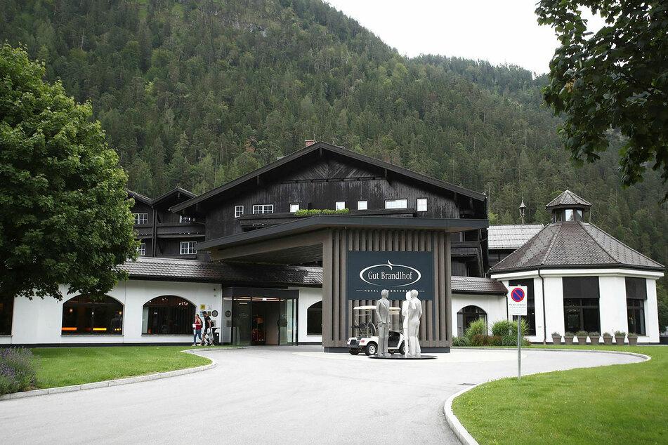 """Im Hotel """"Gut Brandlhof"""" im österreichischen Saalfelden werden die Roten Bullen bis nächsten Sonntag residieren."""