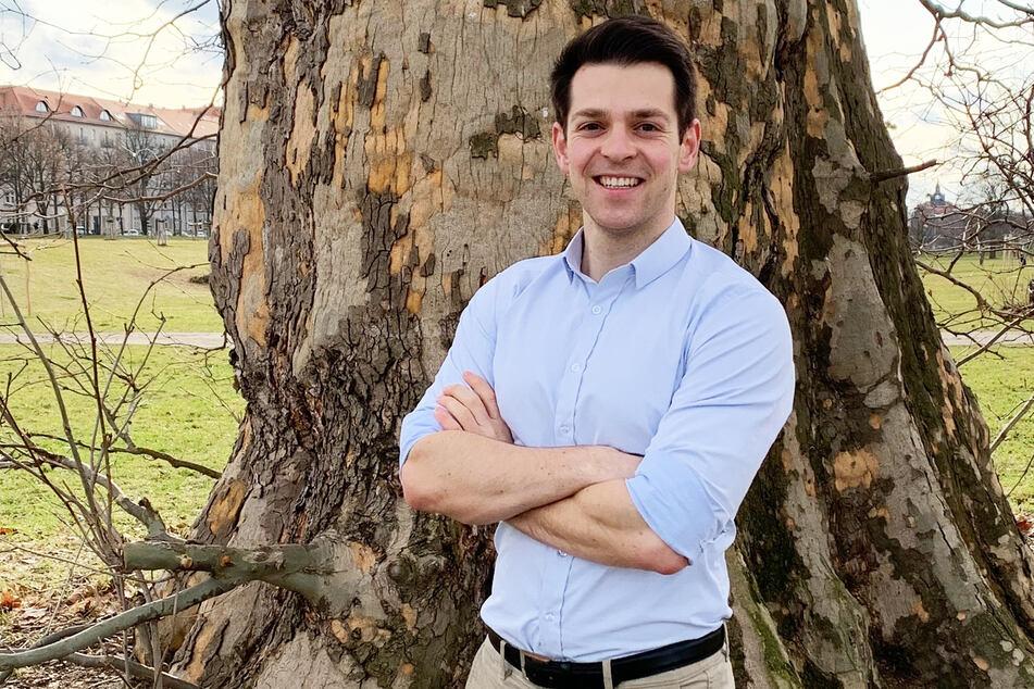 Philipp Hartewig (26, Listenplatz 3, Direktkandidat Wahlkreis 161, Mittelsachsen)