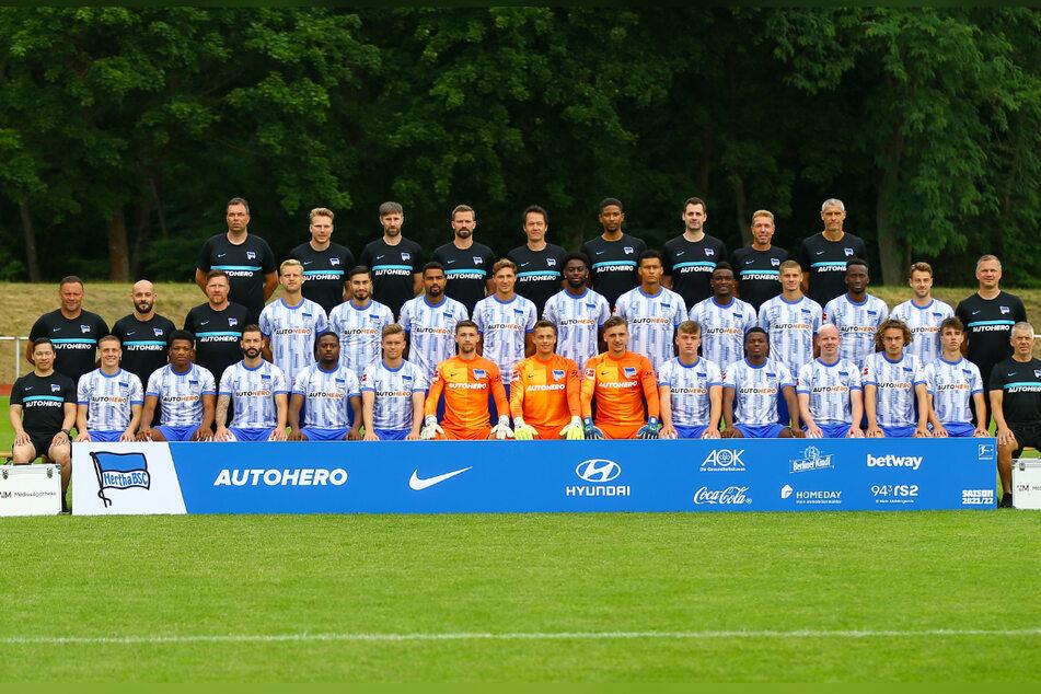 """Auch bei Hertha BSC hieß es: """"Bitte recht freundlich"""" und der Auslöser wurde gedrückt."""