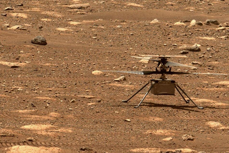 Durchbruch auf dem Mars: NASA-Hubschrauber fliegt erstmals über den roten Planeten