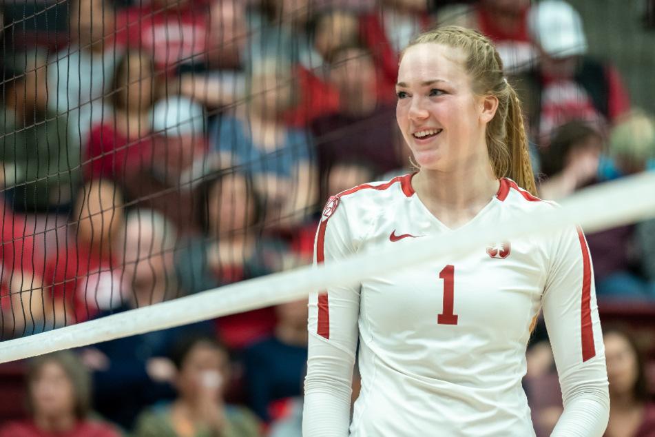 Jenna Gray (22) verstärkt ab sofort das Team der Dresdner Volleyballerinnen.