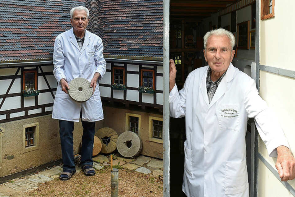 Willkommen in Deutschlands kleinster begehbarer Mühle