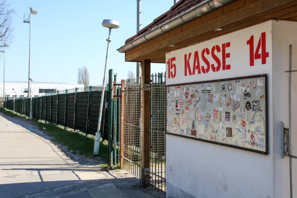 """Die Kassen vom Stadion """"An der Alten Försterei"""" bleiben geschlossen."""