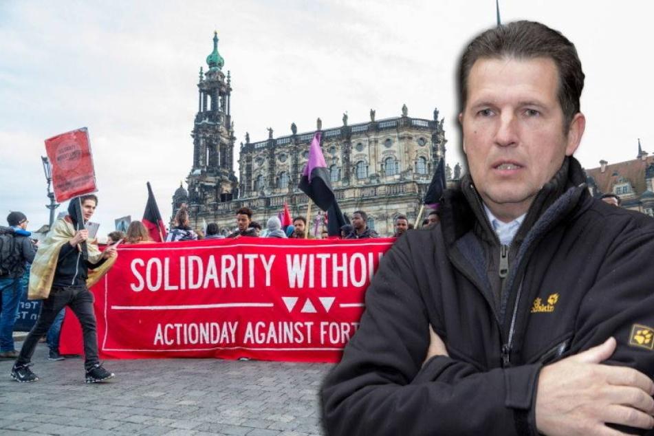 Ordnungsamt überfordert! Zu viele Demos in Dresden