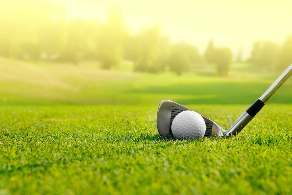 Golfers should watch their step when searching for lost balls (stock image).
