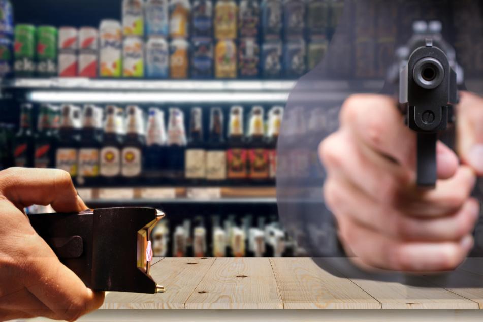 Knarre, Schläge und Elektroschocker: Brutaler Überfall auf Kiosk