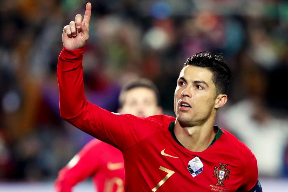 Cristiano Ronaldo unterstützt sein Heimatland Portugal mit einer Spende in Millionenhöhe. (Archivbild)