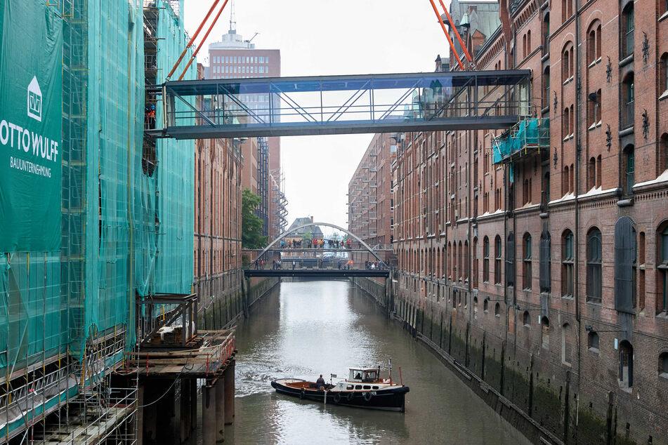 Neue Brücke in der Speicherstadt: Miniatur-Wunderland wird jetzt noch größer