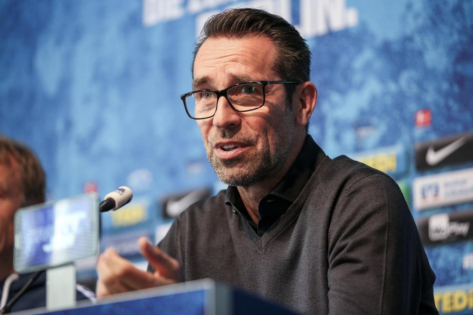 Manager Michael Preetz sagt, der Club plane nicht mit dem Stürmer.
