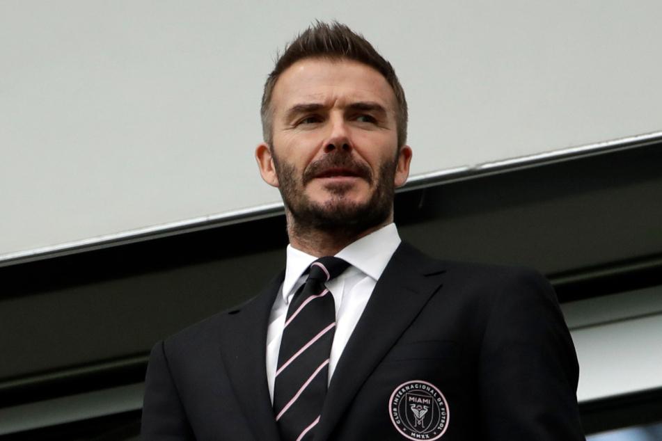 Das gibt's doch nicht. David Beckham (45) muss sich für einen MLS-Klub Inter Miami wohl einen neuen Namen suchen.
