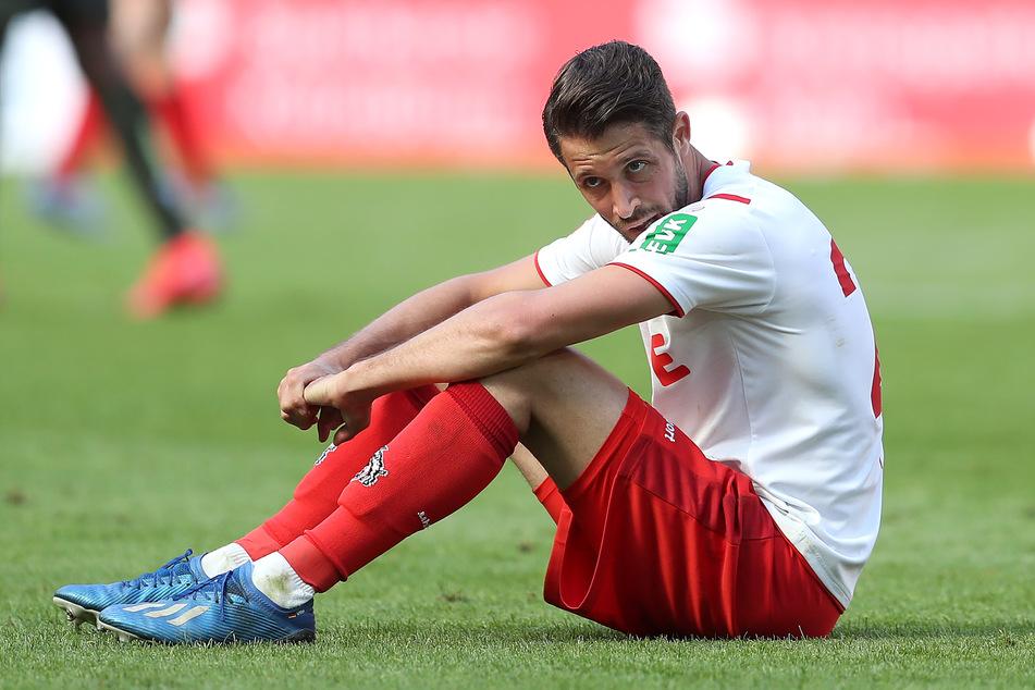 Der 1. FC Köln muss gegen RB Leipzig auf Mark Uth verzichten.
