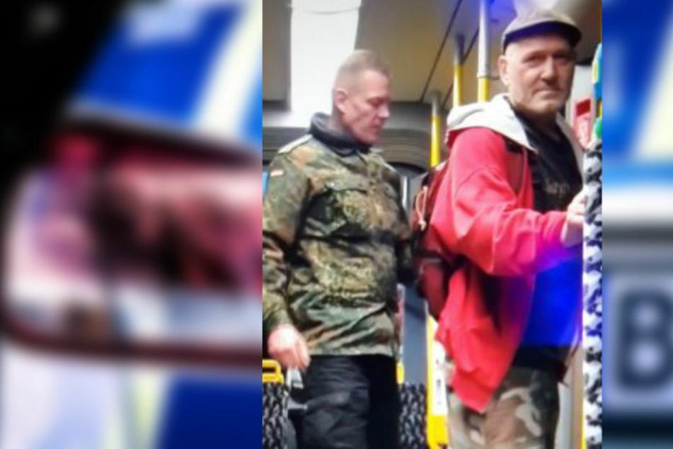 Berlin: Fahndung nach rassistischen Tram-Schlägern: Polizei Berlin bittet um Mithilfe