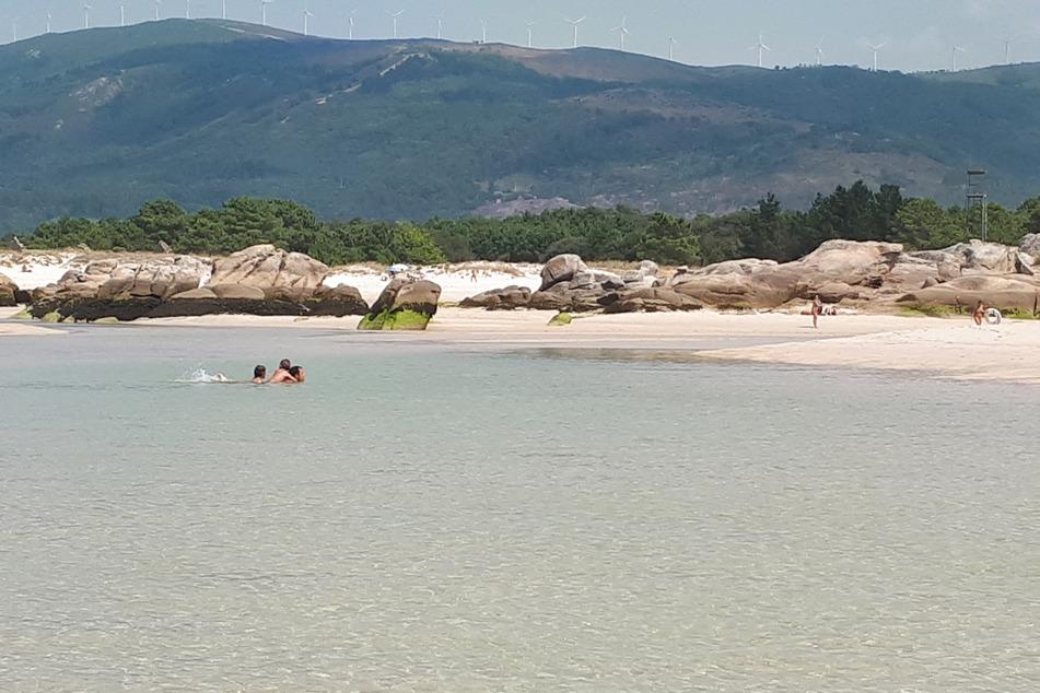Naturidylle: Der Strand in Carnota.