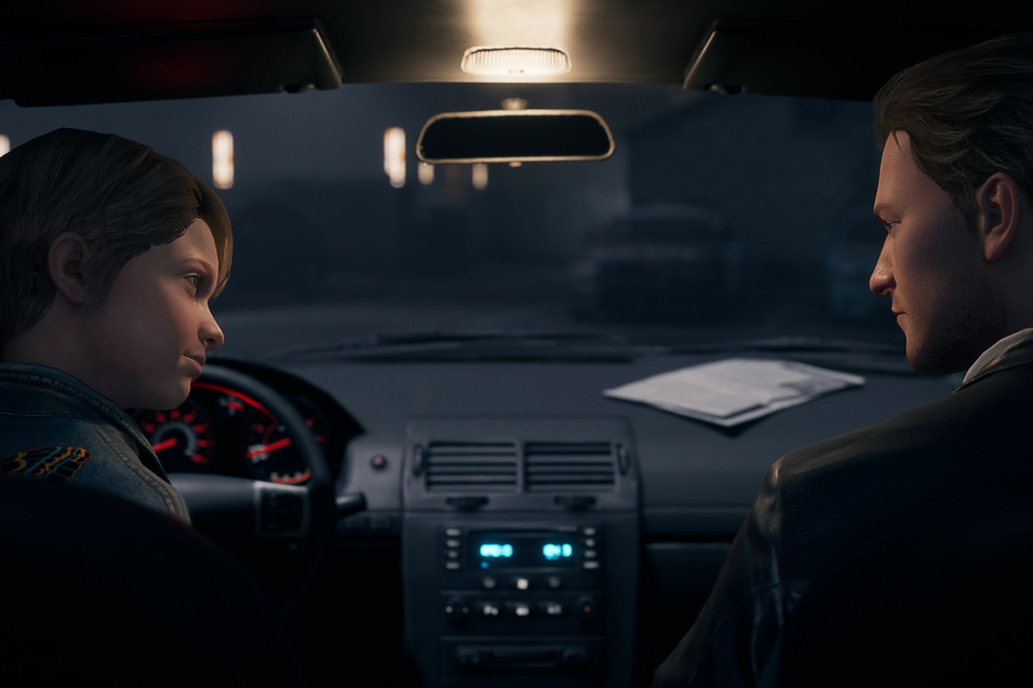 Joan glaubt nicht an den Unfalltod ihres Vaters - und will Patenonkel Sam zum Recherchieren bringen.
