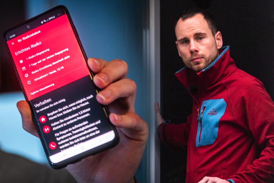 Corona-Warn-App schlug Alarm: Chemnitzer scheitert mit Test beim Gesundheitsamt