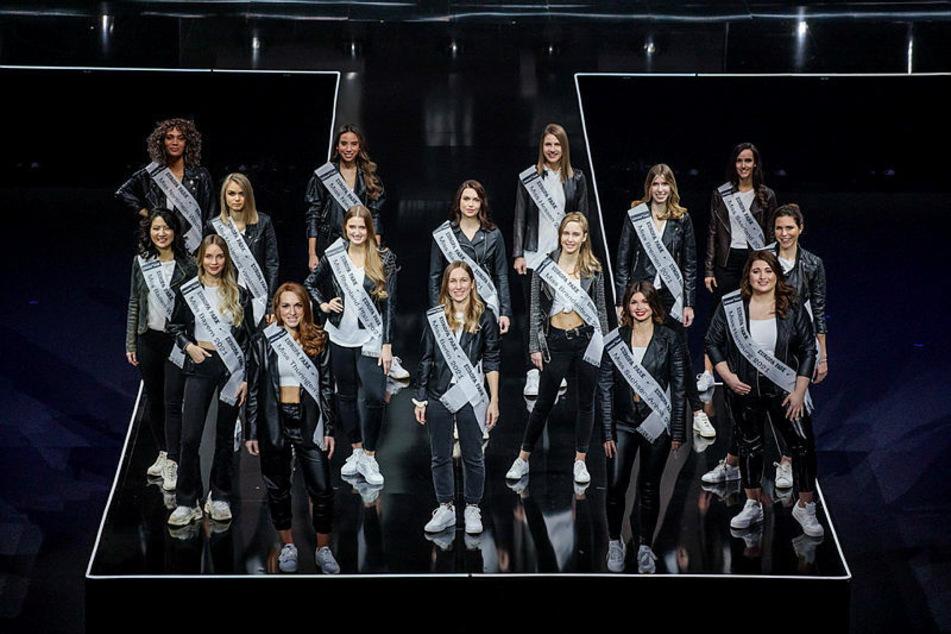16 Missen kämpften im Europa-Park Rust um den Titel der Miss Germany 2021.