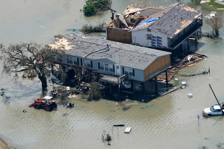 """Hurrikan """"Laura"""" fordert vier Todesopfer: Gouverneur befürchtet das Schlimmste"""