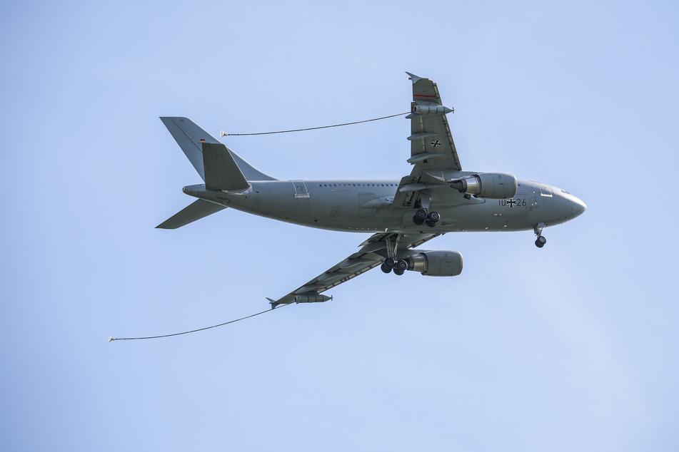 """Der Airbus A310 MedEvac """"Hans Grade"""" der Luftwaffe."""