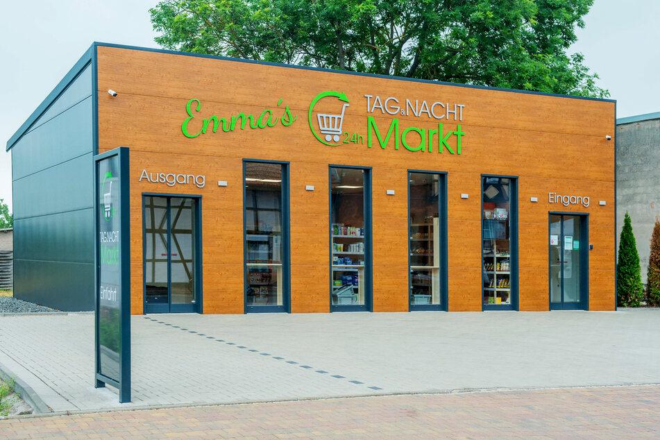 So sieht der 24/7-Tante-Emma-Laden aus - der Prototyp steht in Altengottern (Thüringen).