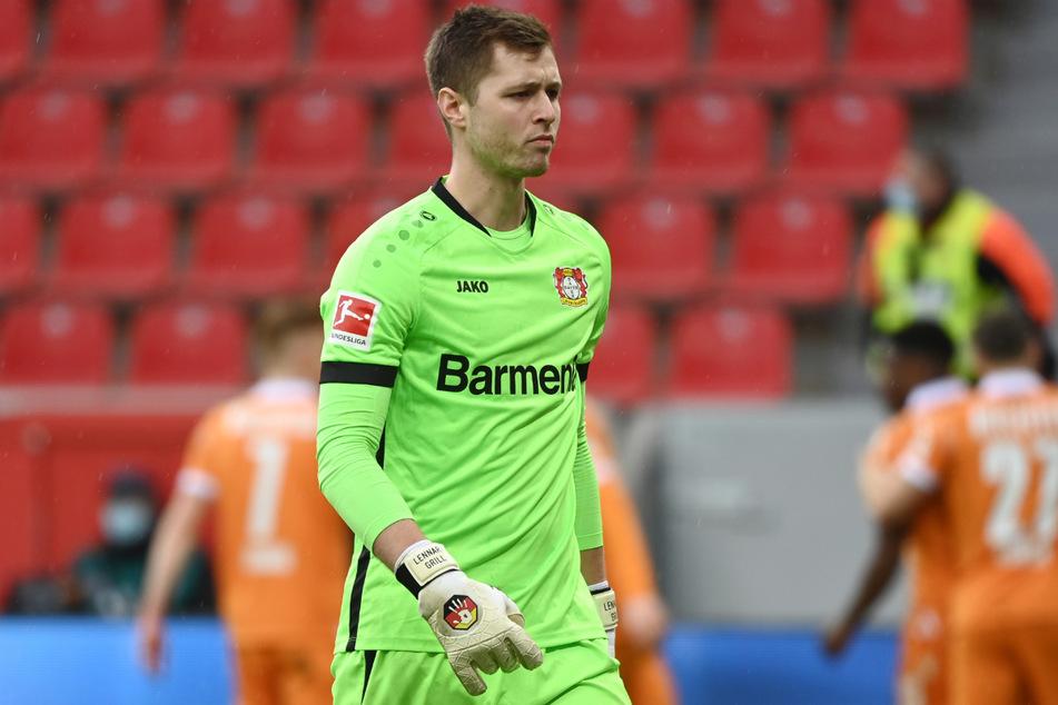 Wird Leverkusen Nachwuchs-Keeper der Karius-Nachfolger? Union soll sich für Lennart Grill (22) interessieren.
