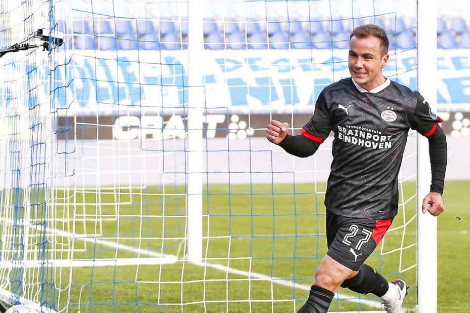 Traumdebüt! Mario Götze trifft nach neun Minuten erstmals für PSV Eindhoven