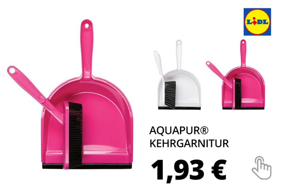 AQUAPUR® Kehrgarnitur, 2-teilig