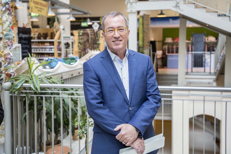 Konsum-Vorstandssprecher Roger Ulke (56) verzeichnet einen Anstieg der Nachfrage nach Toilettenpapier.