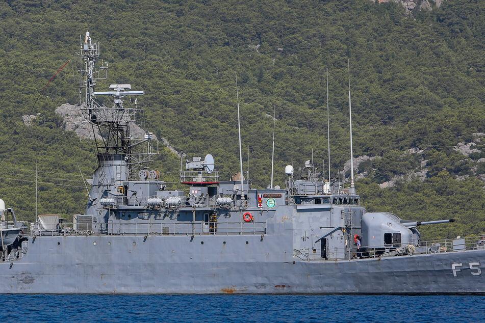 Spannungen im Erdgasstreit: Türkische Kriegsschiffe im Mittelmeer