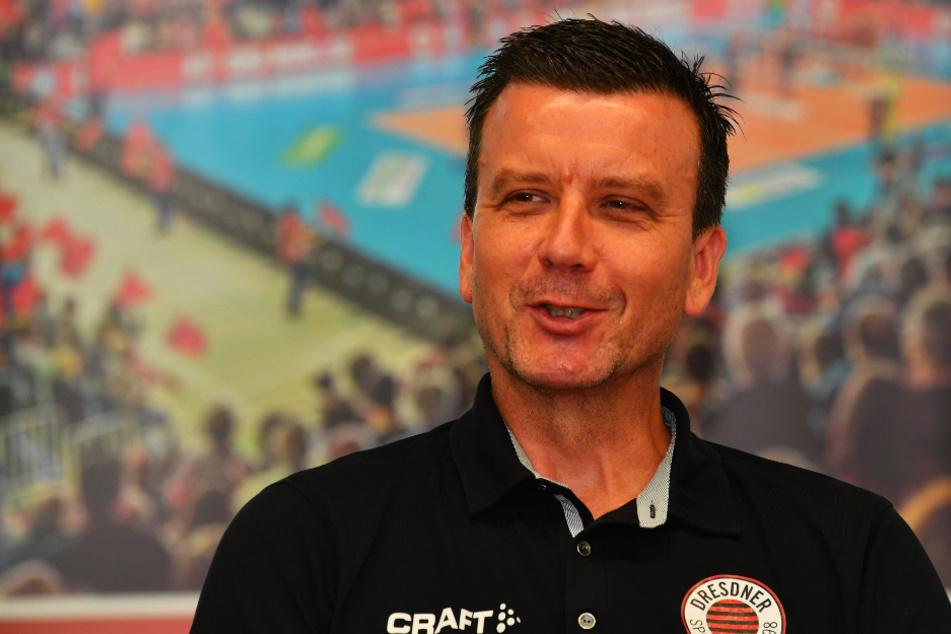 DSC-Coach Alex Waibl rechnet mit einer ukrainischen Mannschaft als Gegner.